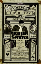 Hip Hop Day Plakatdesign