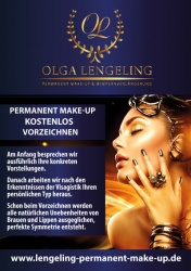 Permanent Make up Plakatdesign