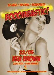 boombastic Party Plakat