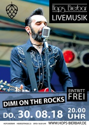 Dimi on The Rocks - Plakat