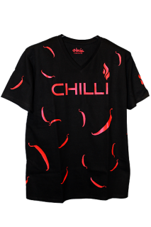 Shirt mit Druck Red Hot Chilly