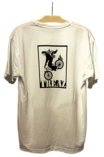 Shirt mit Druck treaz on Bike