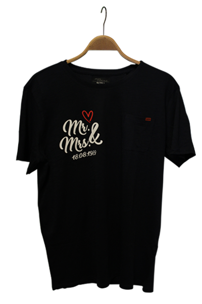 T Shirt mr und mrs
