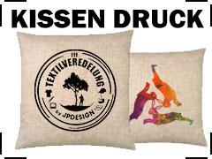 Kissen Druck Paderborn Kissenbezug Bedrucken Lassen
